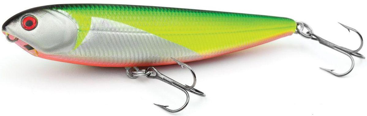 Воблер плавающий Atemi Sugar Pencil, цвет: silver chart, длина 8 см, вес 8 г10948Плавающий воблер Atemi Sugar Pencil является наилучшей приманкой как для троллинга, так и для ловли в заброс. Он также хорошо работает при ловле рыбы против течения. Рекомендуется для ловли - щуки, окуня, форели, басса, язя, голавля, желтоперого судака, жереха.Проводите по более глубоким местам, в местах сбора кормовой базы хищних рыб.Во время максимальной активности рыб, лучше брать ярко окрашенную приманку, которая будет выделяться в толще воды и сразу бросится хищнику в глаза.Если у хищника плохой аппетит, то расцветка должна быть максимально близкой к расцветке кормовой рыбы.