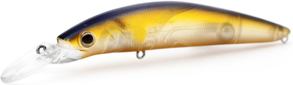 """Воблер плавающий Atemi """"Dinamic"""", цвет: Ghost Ay, длина 12,5 см, вес 24 г, заглубление 1,7 м"""