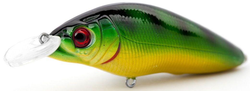 Воблер плавающий Atemi Black Widow One, цвет: Perch, длина 6,5 см, вес 8,5 г, заглубление 1 м513-00127Приманка Atemi Воблер Black Widow - яркая и качественная приманка, которая рекомендуется для ловли щуки, форели, басса, голавля, жереха, желтоперого судака, окуня. Эта легкая приманка может использоваться для ловли рыбы вверх по течению, если обеспечить более высокую, нежели скорость течения, скорость проводки. Воблер также может использоваться и при ловли против течения.