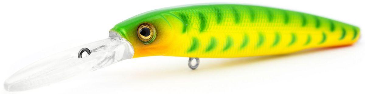 Воблер суспендер Atemi Jedai, цвет: Snakehead Chart, длина 8,8 см, вес 11 г, заглубление 2,5 м513-00143Воблер ATEMI Jedai, Snakehead Chart, 8,8 см Воблер Atemi Jedai суспендер. Для озер и водохранилищ, Jedai является наилучшей приманкой как для троллинга, так и для ловли в заброс. Эта приманка превосходна для ловли рыбы, если ее забрасывать вверх по течению, только обеспечивайте скорость проводки немного быстрее, чем скорость течения. Рекомендуется для ловли – щуки, окуня, форели, басса, язя, голавля, желтоперого судака, жереха. Она также хорошо работает при ловле рыбы против течения, проводите приманку по более глубоким местам, там, где чаще стоят в засаде более крупные экземпляры. Расцветка: Snakehead Chart Длина: 8,8 cм. Вес: 11 г. Рабочая глубина: 2,5 м.
