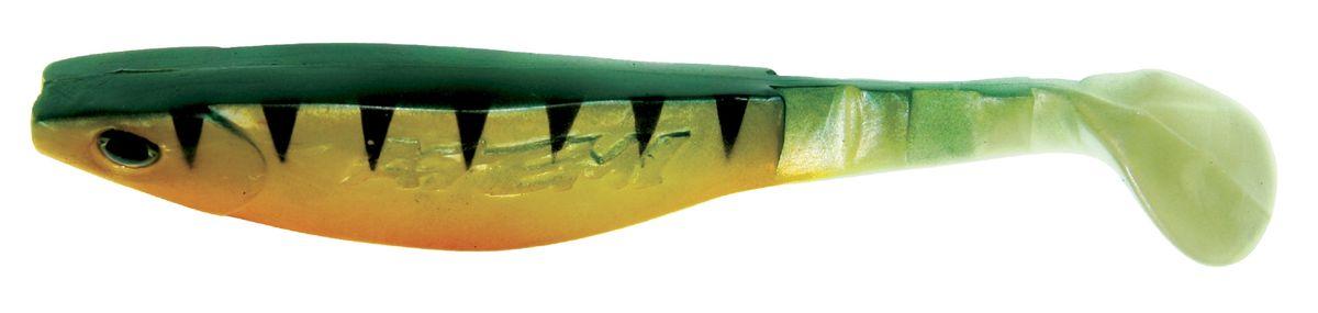 Риппер Atemi, цвет: greenzebra, длина 8 см, 8 шт218032Риппер Atemi - это виброхвост с объемным, мясистым телом, выполненный из высококачественного силикона. Имеет стабильную сбалансированную игру. Предназначен для джиговой ловли хищной рыбы: окуня, судака, щуки. Приманка визуально стимулирует хищный инстинкт поедателей рыб и толкает их совершать атаки.