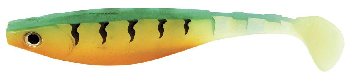 Риппер Atemi, цвет: greatperch, длина 10,5 см, 5 шт03/1/12Риппер Atemi - это виброхвост с объемным, мясистым телом, выполненный из высококачественного силикона. Имеет стабильную сбалансированную игру. Предназначен для джиговой ловли хищной рыбы: окуня, судака, щуки. Приманка визуально стимулирует хищный инстинкт поедателей рыб и толкает их совершать атаки.