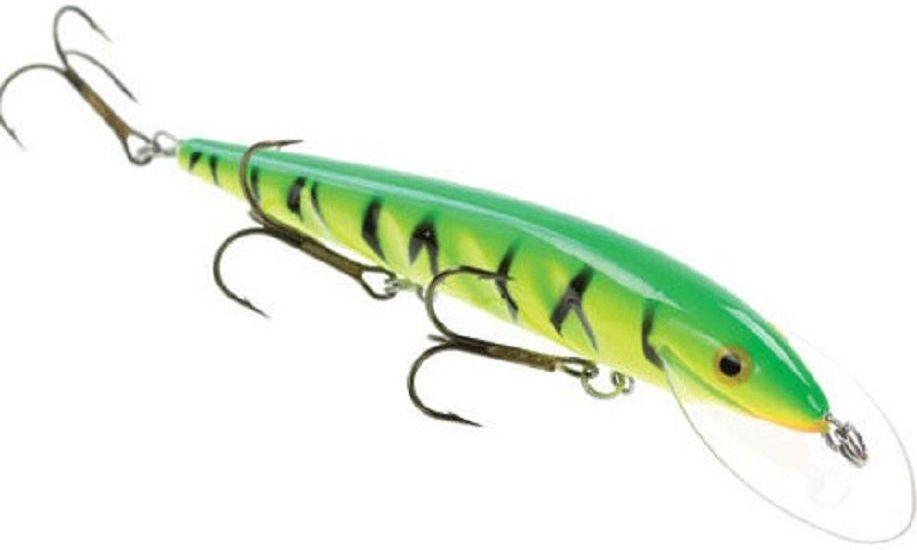 Воблер Blind Paroni, цвет: firetiger, длина 13 см, вес 17 г218032Воблер Blind Paroni изготовлен из высококачественного пластика и отличается яркой расцветкой. Три тройника не дадут ускользнуть самой верткой рыбе. Blind Paroni применяется для ловли хищных видов рыб. Вываживание матерой щуки подарит вам новые позитивные ощущения азарта, борьбы и победы. Рабочая глубина: 3 м.