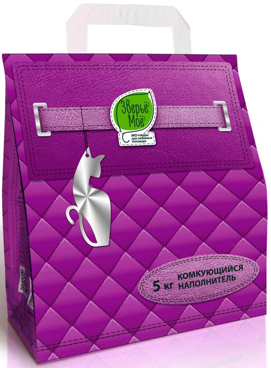 Наполнитель комкующийся Зверье Мое, 5 кг, 4,5 л0120710Наполнитель из экологически чистого природного материала - бентонит. Изготовлены из природного материала – бентонитовой глины. Предназначен для взрослых кошек и котят. Моментально впитывает, запирает запахи, бактерицидный, не прилипает к шерсти и лапкам, безопасен при попадании в желудок.