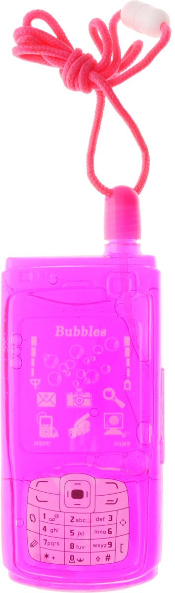 Uncle Bubble Мыльные пузыри Мобильник цвет розовый