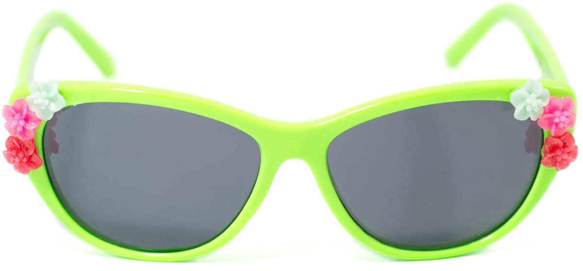 Очки солнцезащитные детские Mitya Veselkov, цвет: зеленый. OS-200OS-200Прекрасные антибликовые очки Mitya Veselkov, станут прекрасным и стильным аксессуаром для вашего ребенка и защитят его от УФ лучей. Они помогут глазу более четко распознать картинку, засвеченную солнечными лучами, при этом скорректируют все возникшие искажения.