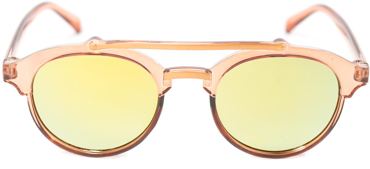 Очки солнцезащитные детские Mitya Veselkov, цвет: коричневый. OS-210OS-210Прекрасные антибликовые очки Mitya Veselkov, станут прекрасным и стильным аксессуаром для вашего ребенка и защитят его от УФ лучей. Они помогут глазу более четко распознать картинку, засвеченную солнечными лучами, при этом скорректируют все возникшие искажения.