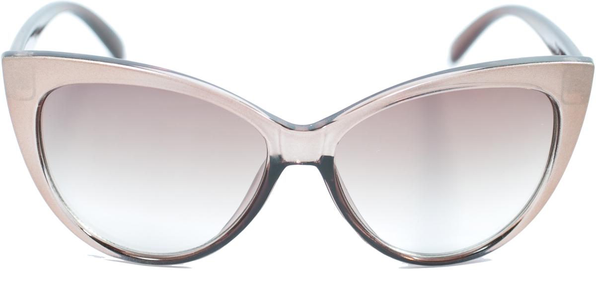 Очки солнцезащитные женские Mitya Veselkov, цвет: бежевый. OS-187OS-187Прекрасные антибликовые очки Mitya Veselkov, станут прекрасным и стильным аксессуаром для вас и защитят от УФ лучей. Они помогут глазу более четко распознать картинку, засвеченную солнечными лучами, при этом скорректируют все возникшие искажения.