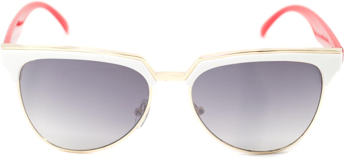 Очки солнцезащитные женские Mitya Veselkov, цвет: белый, красный. OS-126INT-06501Прекрасные антибликовые очки Mitya Veselkov, станут прекрасным и стильным аксессуаром для вас и защитят от УФ лучей. Они помогут глазу более четко распознать картинку, засвеченную солнечными лучами, при этом скорректируют все возникшие искажения.