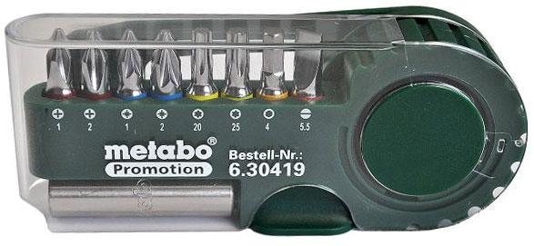 """Набор бит """"Metabo"""", 9 предметов 630419000"""