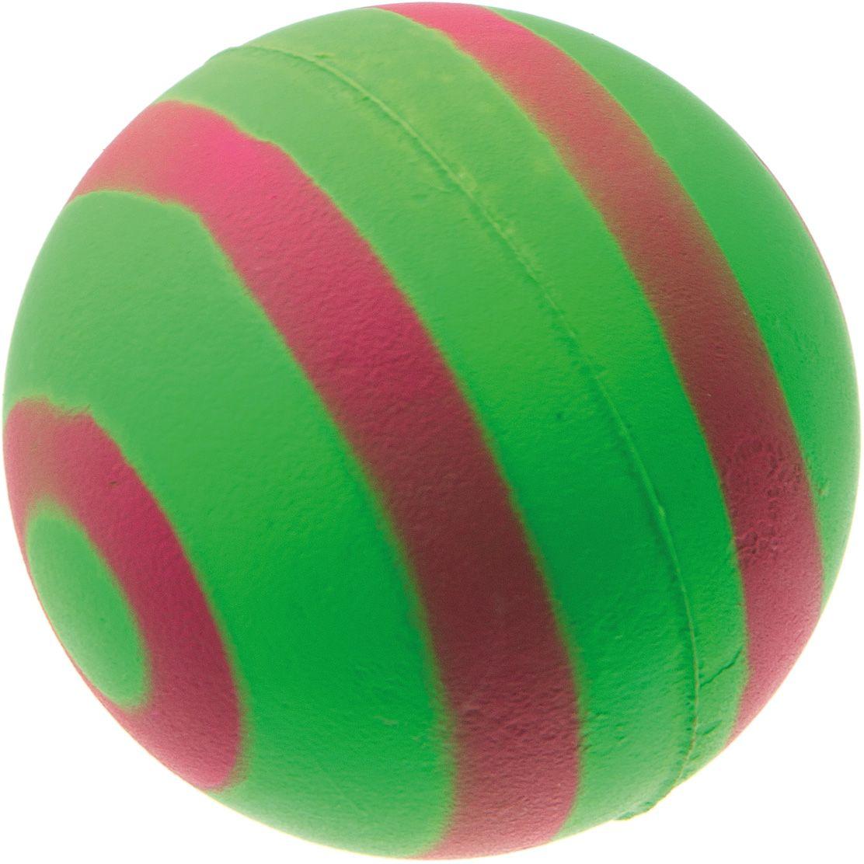 Мяч V.I.Pet Неон, цвет: зеленый, красный, 63 мм. 20-112220-1122