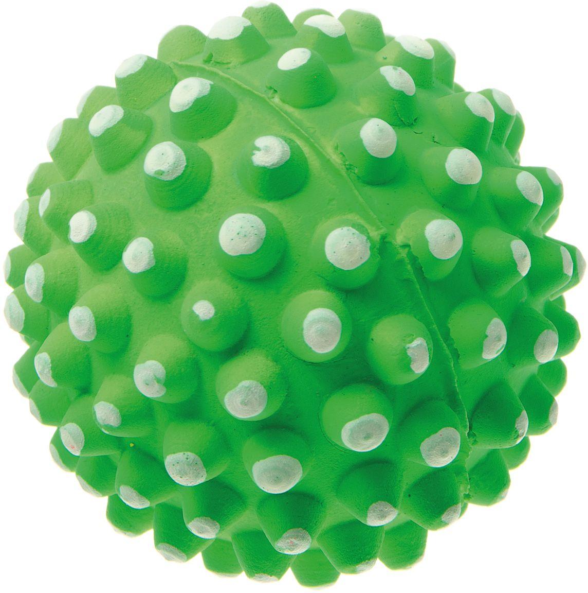 Мяч V.I.Pet Коралл, цвет: зеленый, 72 мм. 20-112620-1126