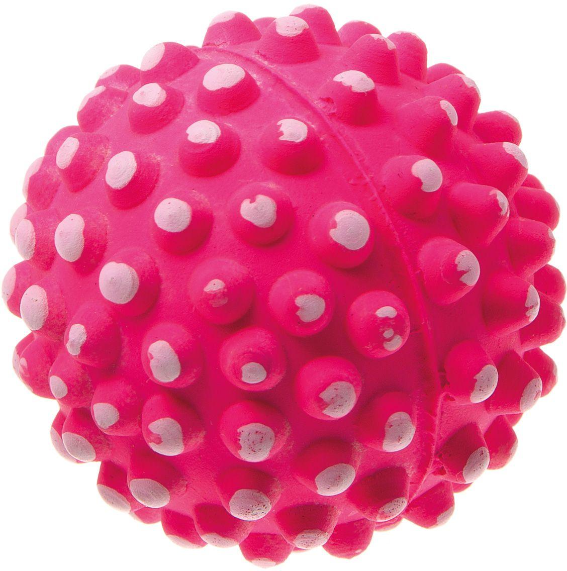 Мяч V.I.Pet Коралл, цвет: розовый, 72 мм. 20-112720-1127
