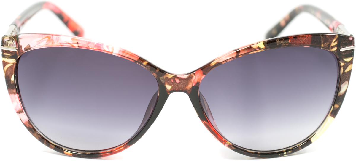 Очки солнцезащитные женские Mitya Veselkov, цвет: коричневый, розовый. OS-162INT-06501Прекрасные антибликовые очки Mitya Veselkov, станут прекрасным и стильным аксессуаром для вас и защитят от УФ лучей. Они помогут глазу более четко распознать картинку, засвеченную солнечными лучами, при этом скорректируют все возникшие искажения.