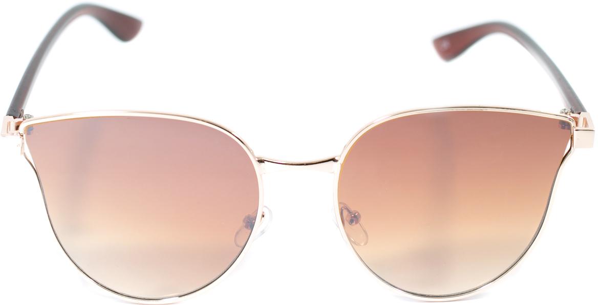 Очки солнцезащитные женские Mitya Veselkov, цвет: коричневый. OS-134JL192col.5orПрекрасные антибликовые очки Mitya Veselkov, станут прекрасным и стильным аксессуаром для вас и защитят от УФ лучей. Они помогут глазу более четко распознать картинку, засвеченную солнечными лучами, при этом скорректируют все возникшие искажения.