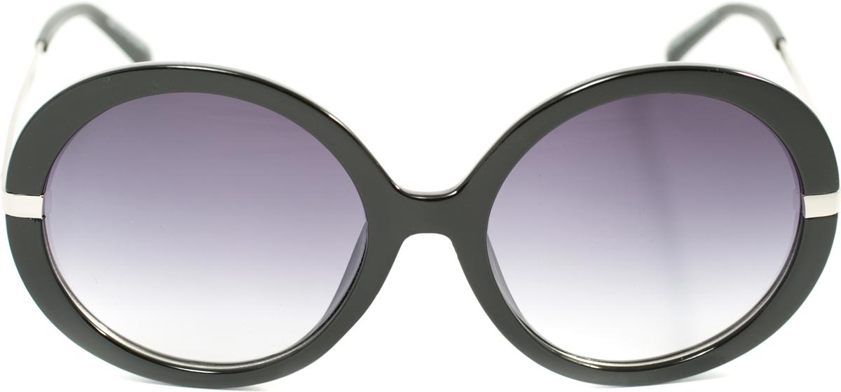 Очки солнцезащитные женские Mitya Veselkov, цвет: черный. OS-116TL-49-SCПрекрасные антибликовые очки Mitya Veselkov, станут прекрасным и стильным аксессуаром для вас и защитят от УФ лучей. Они помогут глазу более четко распознать картинку, засвеченную солнечными лучами, при этом скорректируют все возникшие искажения.