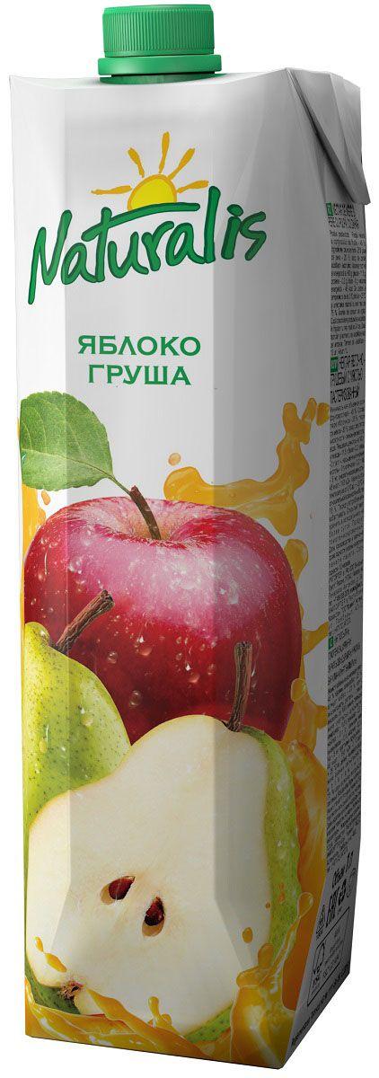 Naturalis нектар яблочно-грушевый с мякотью, 1 л ВГС_48
