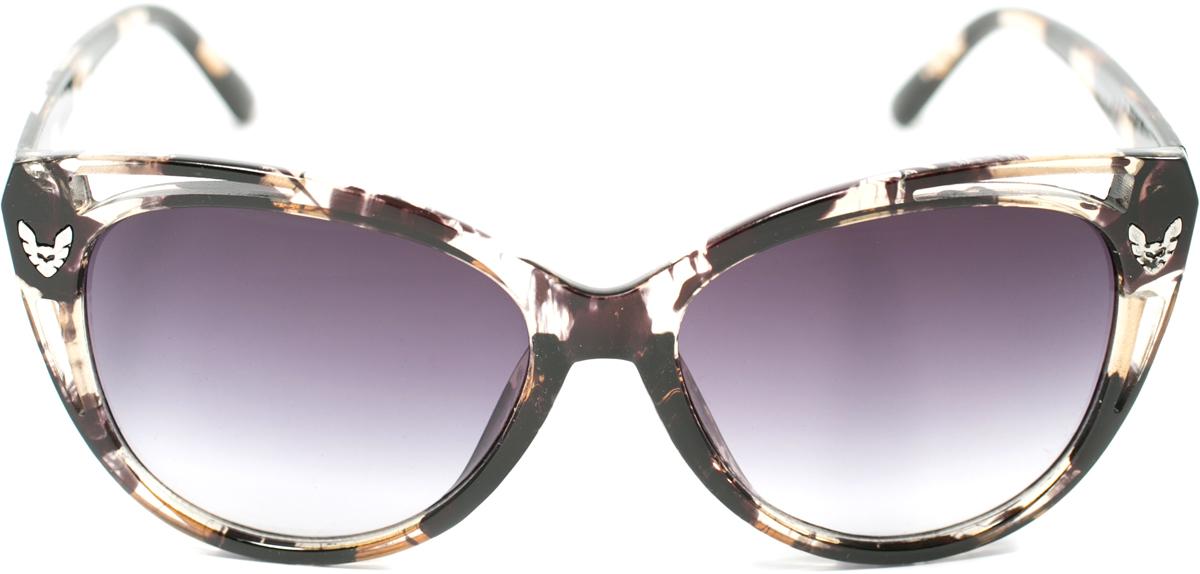 Очки солнцезащитные женские Mitya Veselkov, цвет: черный. OS-161OS-161Прекрасные антибликовые очки Mitya Veselkov, станут прекрасным и стильным аксессуаром для вас и защитят от УФ лучей. Они помогут глазу более четко распознать картинку, засвеченную солнечными лучами, при этом скорректируют все возникшие искажения.