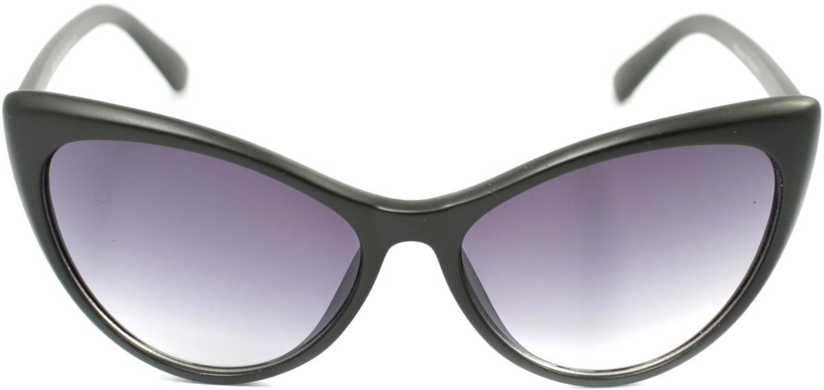 Очки солнцезащитные женские Mitya Veselkov, цвет: черный. OS-166INT-06501Прекрасные антибликовые очки Mitya Veselkov, станут прекрасным и стильным аксессуаром для вас и защитят от УФ лучей. Они помогут глазу более четко распознать картинку, засвеченную солнечными лучами, при этом скорректируют все возникшие искажения.