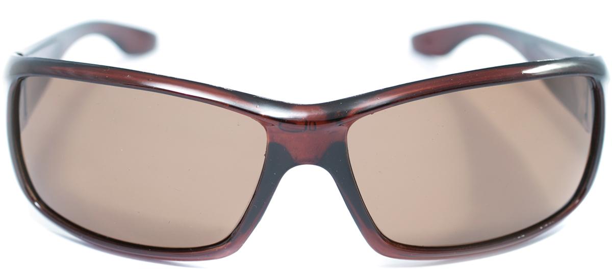 Очки солнцезащитные с поляризацией Mitya Veselkov, цвет: коричневый. OS-146OS-146Прекрасные антибликовые очки Mitya Veselkov, станут прекрасным и стильным аксессуаром для вас и защитят от УФ лучей. Они помогут глазу более четко распознать картинку, засвеченную солнечными лучами, при этом скорректируют все возникшие искажения.
