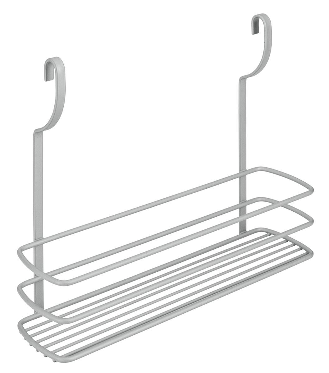 Полка навесная Metaltex City, 35 х 9 х 26 смVT-1520(SR)Навесная полка Metaltex City изготовлена из стали и покрыта новым полимерным покрытием Frost Polytherm. Такая полка не только экономит место на вашей кухне, но и обеспечивает наглядность, порядок и удобный доступ к кухонным принадлежностям.Современный дизайн делает ее практичным и стильным домашним аксессуаром. Она пригодится для хранения различных кухонных или других принадлежностей, которые всегда будут под рукой.Полка устанавливается на рейлинг с помощь двух крючков. Гарантия производителя на покрытие составляе 3 года.