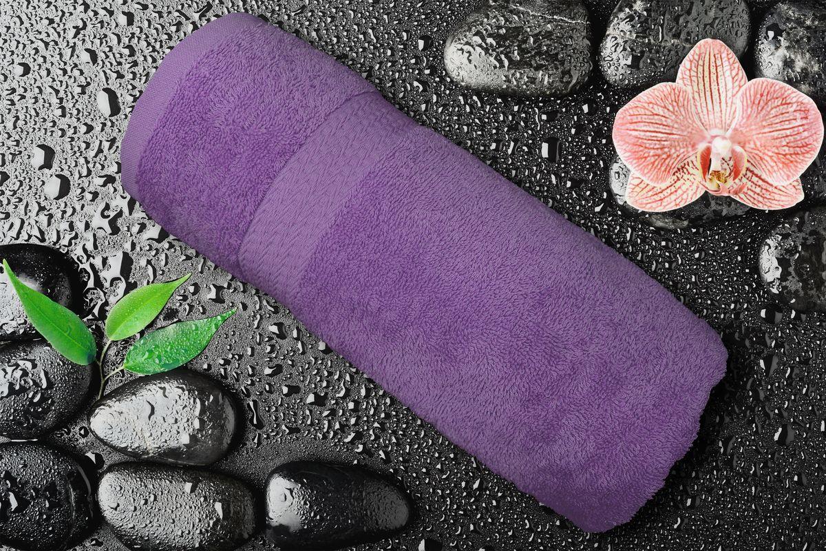 Полотенце Amore Mio GX Classic, цвет: фиолетовый, 70 х 140 см84548Полотенца Amore Mio Classic - полотенца отличного качества из 100% хлопка. Яркие цвета выполнены качественным красителем BASF из Германии сохраняют насыщенность долгое время. Мягкость и пушистость этих полотенец Вас приятно удивит. Продукция имеет европейский сертификат качества.