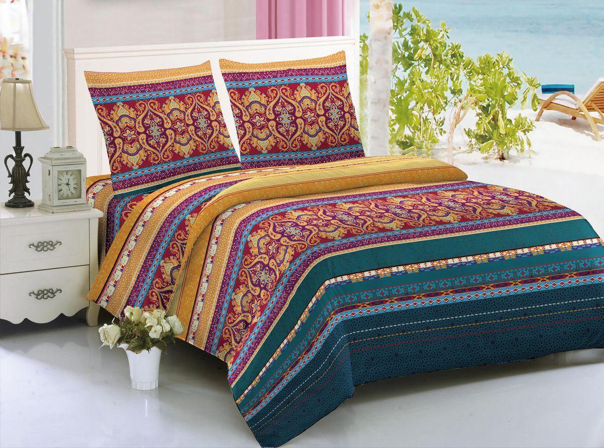 Комплект белья Amore Mio Bangkok, 1,5-спальный, наволочки 70x7085265Комплект постельного белья Amore Mio изготовлен из мако-сатина. Нано-инновации позволили открыть новую ткань, которая сочетает в себе широкий спектр отличных потребительских характеристик и невысокой стоимости. Легкая, плотная, мягкая ткань, приятна и обладает эффектом персиковой кожуры. Отлично стирается, гладится, быстро сохнет. Дисперсное крашение великолепно передает качество рисунков и необычайно устойчиво к истиранию. Комплект состоит из пододеяльника, простыни и двух наволочек.