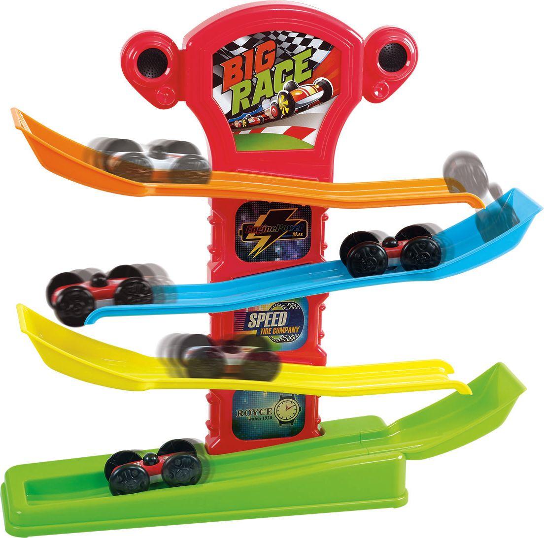 Playgo Игрушечный трек с машинками Play 2265