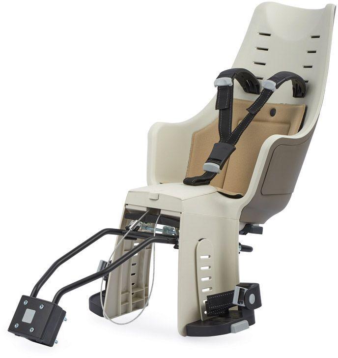 Велокресло заднее Bobike Exclusive Maxi 1P, крепление на раму и багажник велосипеда, цвет: светло-коричневый6056С велокреслом BOBIKE Exclusive Maxi 1P Вы полюбите кататься с детьми. Наслаждайтесь природой, чувствуйте ветер в волосах и солнечные лучи на лице. Уникальная двухслойная конструкция кресла обеспечивает непревзойдённый уровень безопасности ребёнка. Кресло оборудовано регулируемыми по высоте мягкими нескользящими наплечными ремнями с надёжной застёжкой для удержания ребёнка в правильной позиции. BOBIKE Exclusive Maxi 1P оснащено подкладкой из водоотталкивающего материала. Система крепления Click & Go позволяет быстро и без инструментов установить и снять велокресло, а также переставить его между разными велосипедами. Для кратковременной стоянки у магазина или подъезда в комплектацию включён небольшой кодовый замок. BOBIKE Exclusive Maxi 1P устанавливается на подседельную трубу рамы диаметром от 28 до 40 мм или на багажник шириной от 120 до 175 мм. Велокресло предназначено для детей от 9 месяцев до 6 лет и весом до 22 кг.• Крепление на раму или багажник велосипеда• Нескользящие наплечные ремни, регулируемые по высоте• Подкладка из водоотталкивающего материала• Регулируемые подножки, настраиваемые без инструментов• Кодовый замок защитит от кражи кресла• Шестигранник для установки кресла в комплекте• Совместимо с электровелосипедами • Награда в номинации Лучшая покупка от Голландского Общества Потребителей• Сделано в Европе• Для детей от 9 месяцев до 6-и лет или весом до 22 кг