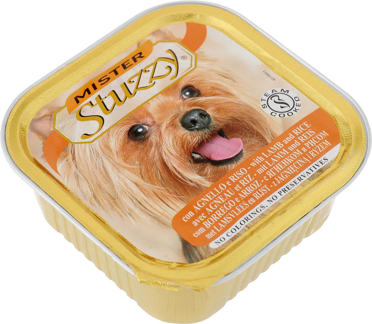 Консервы для собак Stuzzy Mister, с ягненком и рисом, 150 г131.C258Stuzzy Mister - это полнорационный корм для взрослых собак. Корм обогащен таурином и витамином Е для поддержания правильной работы сердца и иммунной системы. Инулин обеспечивает всасывание питательных веществ, а биотин способствуют великолепному внешнему виду кожи и шерсти. Корм приготовлен на пару, не содержит красителей и консервантов. Товар сертифицирован.