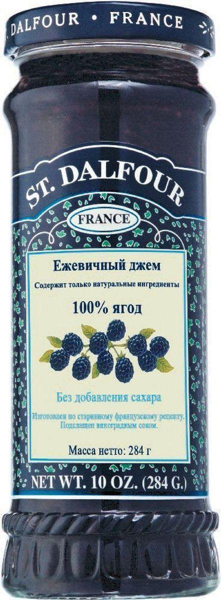 St.Dalfour Джем Ежевика, 284 г207004Без добавления сахара, консервантов, искусственных ароматизаторов и красителей. Содержит только натуральные ингредиенты.