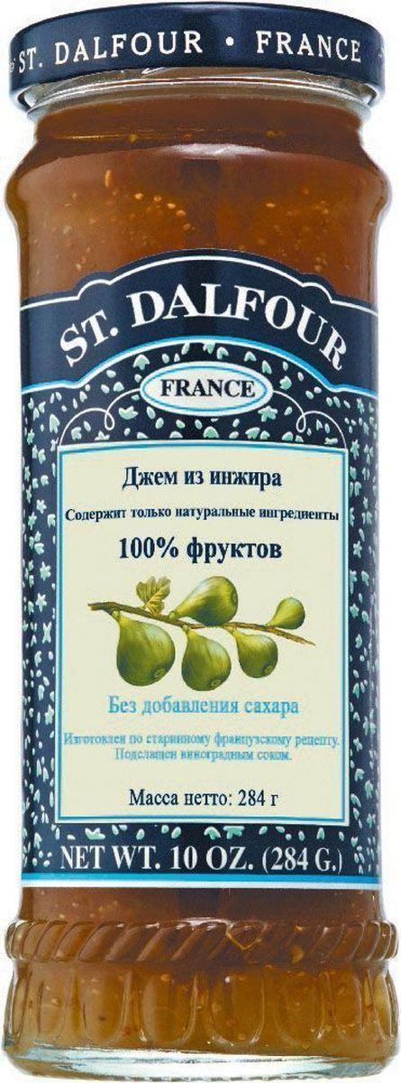 St.Dalfour Джем Инжир, 284 г207028Без добавления сахара, консервантов, искусственных ароматизаторов и красителей. Содержит только натуральные ингредиенты.