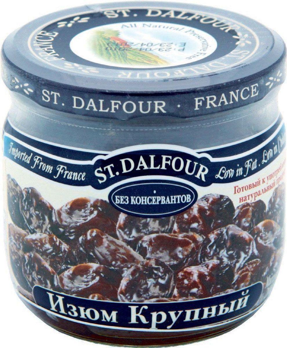 St.Dalfour Изюм крупный, 200 г207041Крупный изюм изготовлен без консервантов. Оптимальный технологический процесс позволяет сохранить нежность и сочность изюма. Он не пересушенный и не жесткий. Это – лучший изюм в мире!