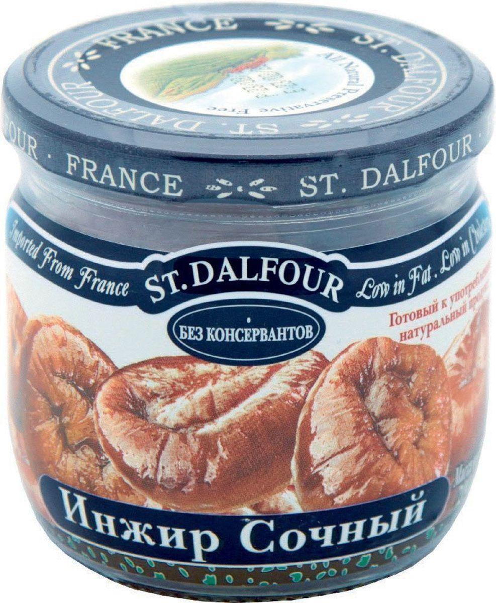 St.Dalfour Инжир сочный, 200 г207044Инжир «премиум» изготовлен без консервантов. Оптимальный технологический процесс позволяет сохранить нежность и сочность инжира. Он не пересушенный и не жесткий. Это – лучший инжир в мире!
