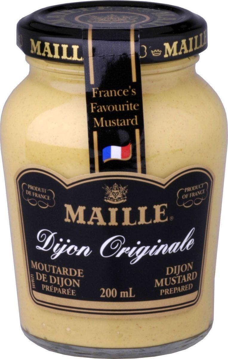 Maille Дижонская горчица, 200 мл0120710Традиционная Дижонская горчица, созданная по старинному французскому рецепту. Производитель находится непосредственно в г. Дижоне. Подходит для мясных и блюд из птицы.