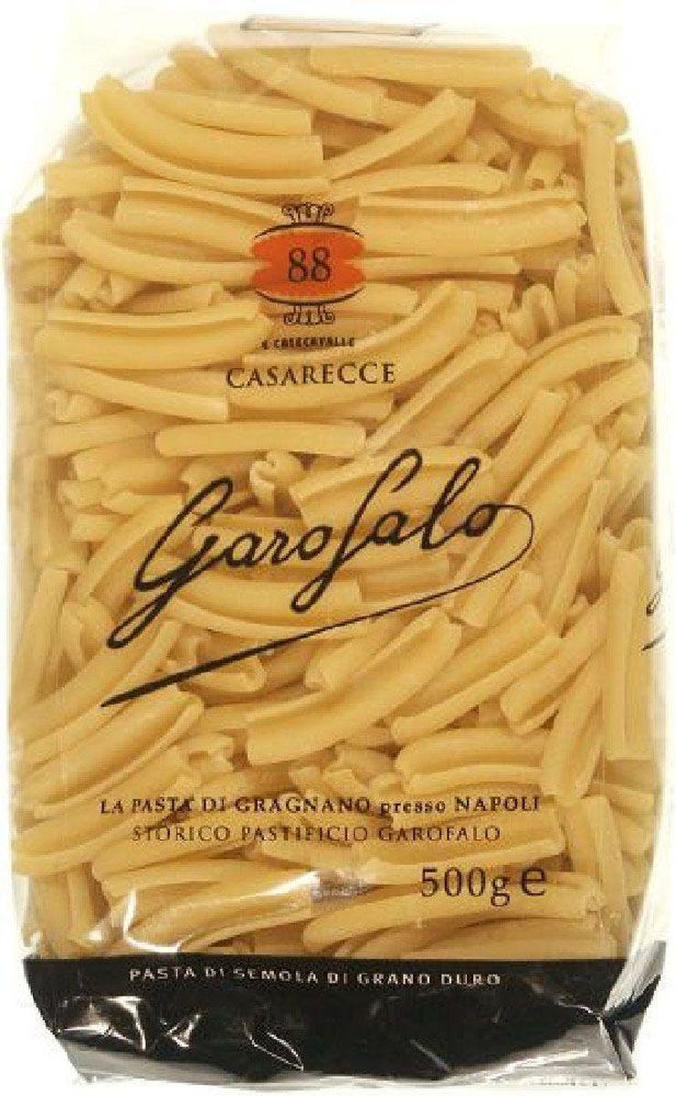 Garofalo Кесаречче свернутая вдвое трубочка № 88, 500 г259509Свернутая вдвое трубочка. Традиционно домашний вид итальянской пасты придаст незабываемый вид вашим блюдам. Используются как гарнир, в супах и овощных салатах .