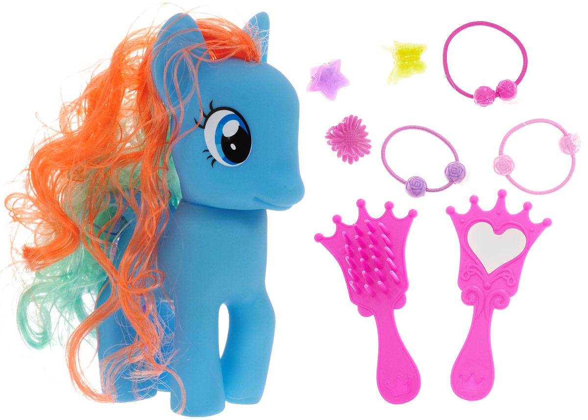 Карапуз Игровой набор Пони цвет голубой