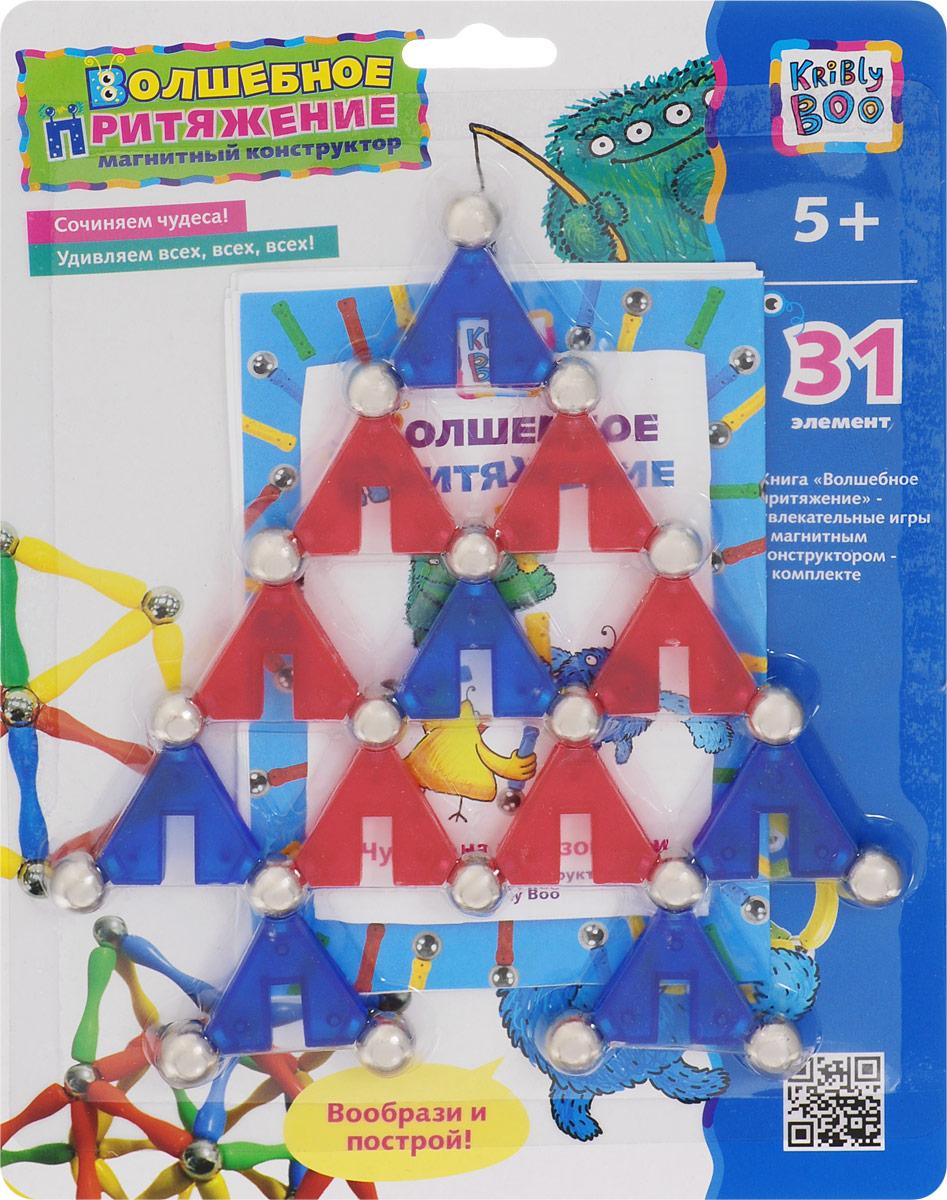 Kribly Boo Конструктор Треугольники подбери и приклей треугольники путешествия