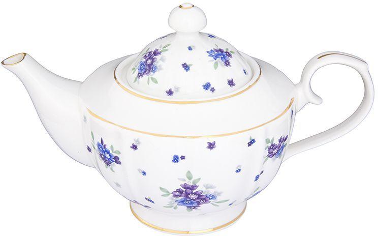 Чайник заварочный Elan Gallery Сиреневый туман, на ножке, 1,1 л740285Изысканный заварочный чайник украсит сервировку стола к чаепитию. Благодаря красивому утонченному дизайну и качеству исполнения он станет хорошим подарком друзьям и близким. Объем 1100 мл. Изделие в подарочной упаковке.