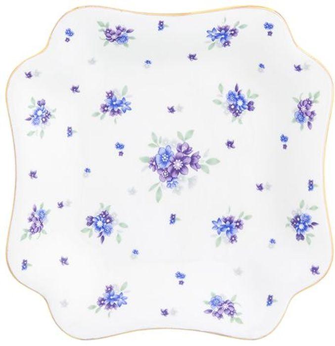 Блюдо для нарезки Elan Gallery Сиреневый туман, 17,5 х 17,5 х 2,5 см115510Сервировочное блюдо для нарезки и закусок станет настоящим урашением Вашего праздничного стола. Это блюдо прекрасно подойдет и для бутербродов, и для нарезки. Изделие имеет подарочную упаковку, поэтому станет желанным подарком для Ваших близких!