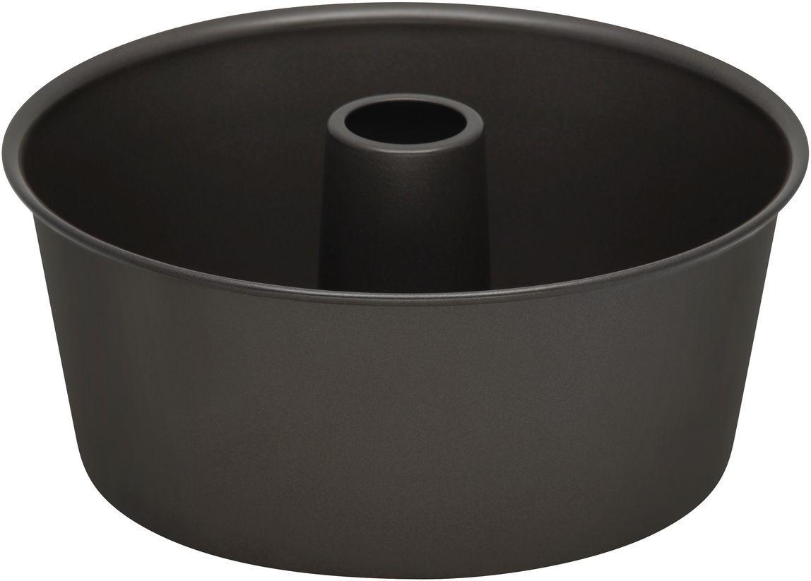 Форма для выпечки Bakers Secret Essentials, цвет: темно-серый. 11143701114370Коллекция форм для выпечки тортов Bakers Secret из США являются хорошим приобретением любой хозяйки. Данные товары пользуются спросом, поскольку их отличает высокое качество. Формы для запекания Bakers Secret - выполнены из высококачественной стали. Внешнее антипригарное покрытие для удобства ухода и утолщенные стенки гарантируют равномерное пропекание изделия. Стальные формы для запекания стали популярными намного позже чугунных и керамических, и главное их преимущество – это абсолютная химическая нейтральность. Качественная нержавеющая сталь никак не скажется на вкусе готовой пищи и не будет подвержена воздействию кислот и щелочей, содержащихся в моющих средствах. Можно мыть в посудомоечной машине.