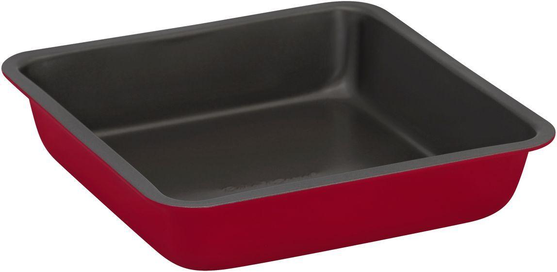 Форма для выпечки Bakers Secret Colors. Red Velvet, 20,3 х 20,3 см, цвет: красный. 11157301115730Коллекция форм для выпечки тортов Bakers Secret из США являются хорошим приобретением любой хозяйки. Данные товары пользуются спросом, поскольку их отличает высокое качество. Формы для запекания Bakers Secret - выполнены из высококачественной стали. Внешнее антипригарное покрытие для удобства ухода и утолщенные стенки гарантируют равномерное пропекание изделия. Стальные формы для запекания стали популярными намного позже чугунных и керамических, и главное их преимущество – это абсолютная химическая нейтральность. Качественная нержавеющая сталь никак не скажется на вкусе готовой пищи и не будет подвержена воздействию кислот и щелочей, содержащихся в моющих средствах. Можно мыть в посудомоечной машине.