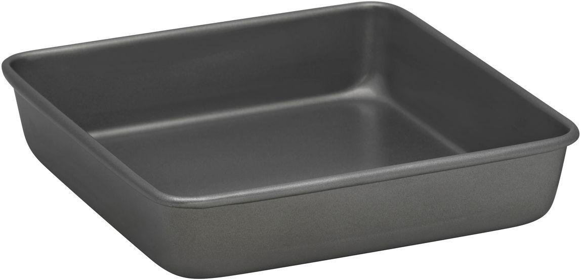 Форма для выпечки Bakers Secret Essentials, 22,2 х 22,2 см, цвет: серый. 11167641116764Коллекция форм для выпечки тортов Bakers Secret из США являются хорошим приобретением любой хозяйки. Данные товары пользуются спросом, поскольку их отличает высокое качество. Формы для запекания Bakers Secret - выполнены из высококачественной стали. Внешнее антипригарное покрытие для удобства ухода и утолщенные стенки гарантируют равномерное пропекание изделия. Стальные формы для запекания стали популярными намного позже чугунных и керамических, и главное их преимущество – это абсолютная химическая нейтральность. Качественная нержавеющая сталь никак не скажется на вкусе готовой пищи и не будет подвержена воздействию кислот и щелочей, содержащихся в моющих средствах. Можно мыть в посудомоечной машине.