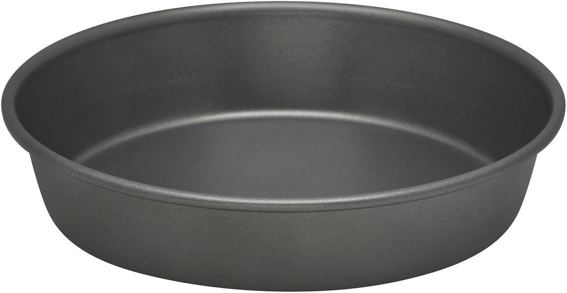 Форма для выпечки Bakers Secret Essentials, диаметр 23 см, цвет: серый. 11167651116765Коллекция форм для выпечки тортов Bakers Secret из США являются хорошим приобретением любой хозяйки. Данные товары пользуются спросом, поскольку их отличает высокое качество. Формы для запекания Bakers Secret - выполнены из высококачественной стали. Внешнее антипригарное покрытие для удобства ухода и утолщенные стенки гарантируют равномерное пропекание изделия. Стальные формы для запекания стали популярными намного позже чугунных и керамических, и главное их преимущество – это абсолютная химическая нейтральность. Качественная нержавеющая сталь никак не скажется на вкусе готовой пищи и не будет подвержена воздействию кислот и щелочей, содержащихся в моющих средствах. Можно мыть в посудомоечной машине.