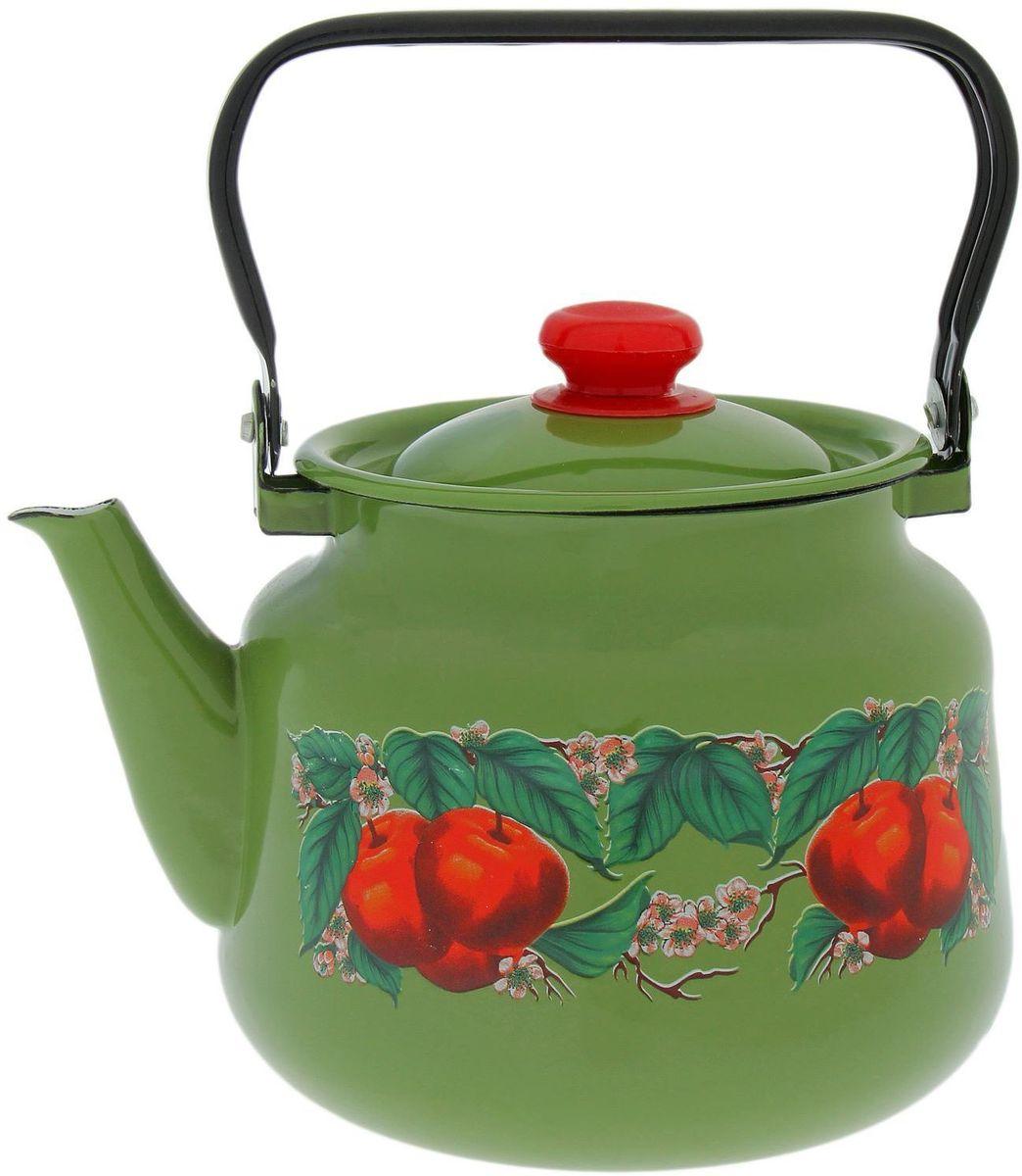 Чайник Epos Яблоко зеленое, 3,5 л1770692Согласитесь, и профессиональному повару, и любителю поэкспериментировать на кухне, и тому, кто к стряпанью не имеет никакого отношения, не обойтись без элементарных предметов, столовые принадлежности, аксессуары для приготовления и хранения пищи — незаменимые вещи для всех, кто хочет порадовать свою семью аппетитными блюдами. Душевная атмосфера и со вкусом накрытый стол всегда будут собирать в вашем доме близких и друзей.