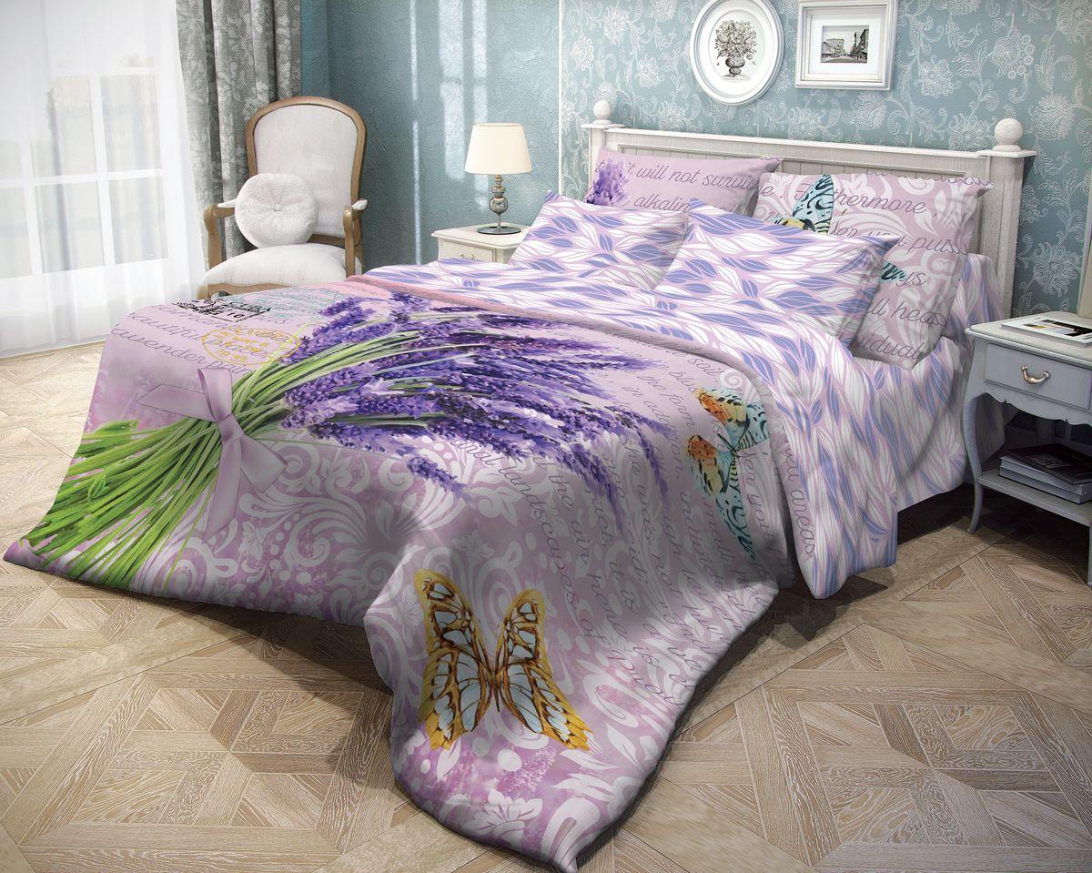 Комплект белья Волшебная ночь Letter, 2-спальный с простыней на резинке, наволочки 70х70, цвет: светло-зеленый, темно-фиолетовый, оранжевый. 71057810503Роскошный комплект постельного белья Волшебная ночь Letter выполнен из натурального ранфорса (100% хлопка) и оформлен оригинальным рисунком. Комплект состоит из пододеяльника, простыни и двух наволочек. Ранфорс - это новая современная гипоаллергенная ткань из натуральных хлопковых волокон, которая прекрасно впитывает влагу, очень проста в уходе, а за счет высокой прочности способна выдерживать большое количество стирок. Высочайшее качество материала гарантирует безопасность.