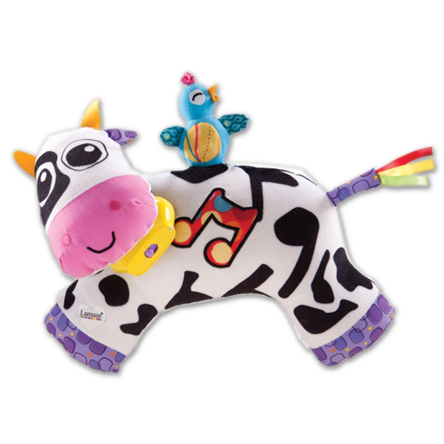Lamaze Мягкая озвученная игрушка Музыкальная коровка ТО27560