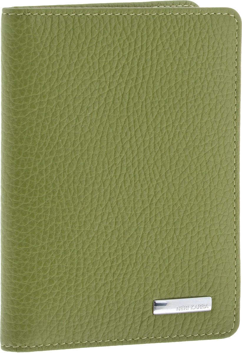 Обложка для автодокументов женская Neri Karra, цвет: хаки. 0032 803.34/380032 803.34/38Обложка для автодокументов Neri Karra выполнена из натуральной кожи. Модель, имеет пластиковые файлы для документов и 4 кармашка для карт.