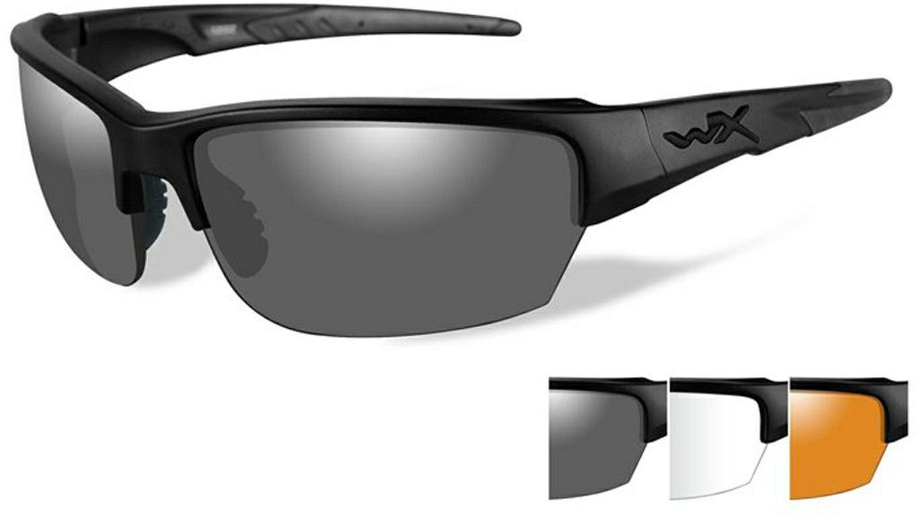 """Очки солнцезащитные WileyX """"Saint"""", для охоты, рыбалки и активного отдыха, цвет: Grey, Clear, Light Rust CHSAI06"""