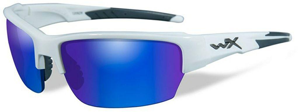 """Очки солнцезащитные WileyX """"Saint Polarized"""", для охоты, рыбалки и активного отдыха, цвет: Blue Mirror, Green CHSAI09"""